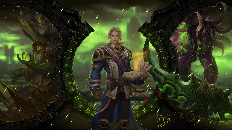 Warcraft Burning Legion Angju