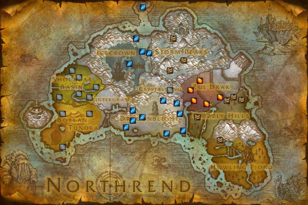 saboteando la fallas Portals-northrend