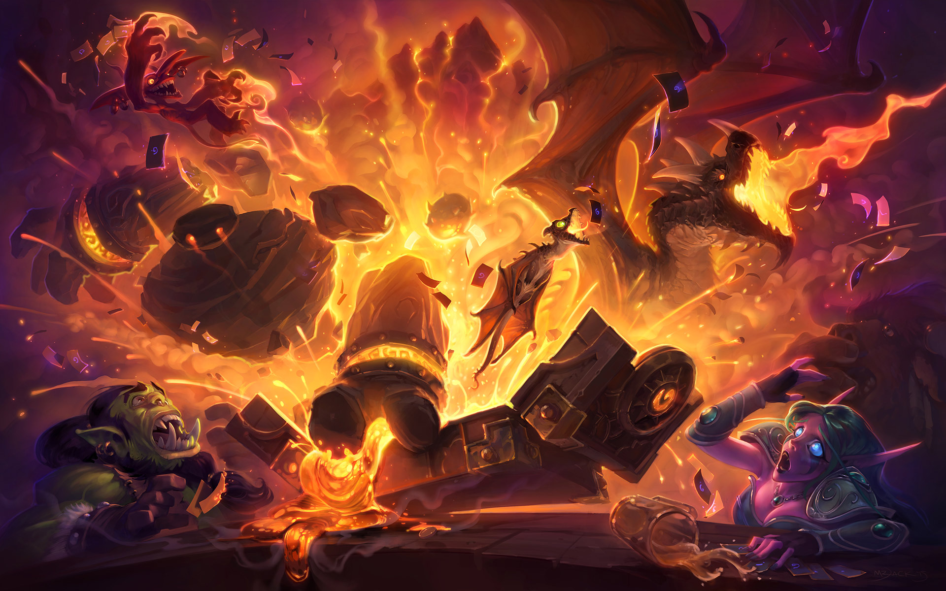 Blackrock Mountain Details from Pax East 2015's Blizzard Preview!