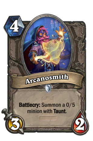 Arcanosmith-Hearthstone