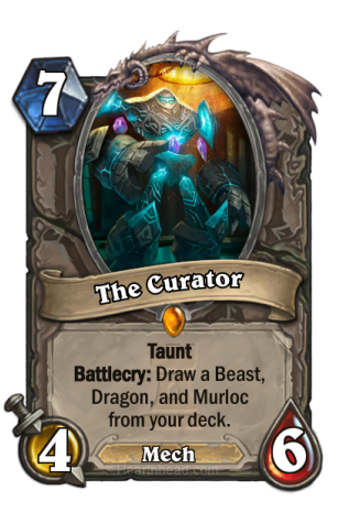 The-Curator-Hearthstone
