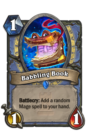 Babbling-Book-Hearthstone
