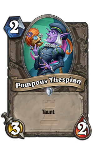 Pompous-Thespian-Hearthstone