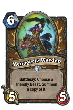 Menagerie-Warden-Hearthstone
