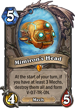 Mimiron's Head