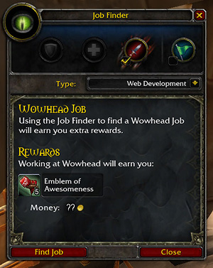 job opportunities wowhead
