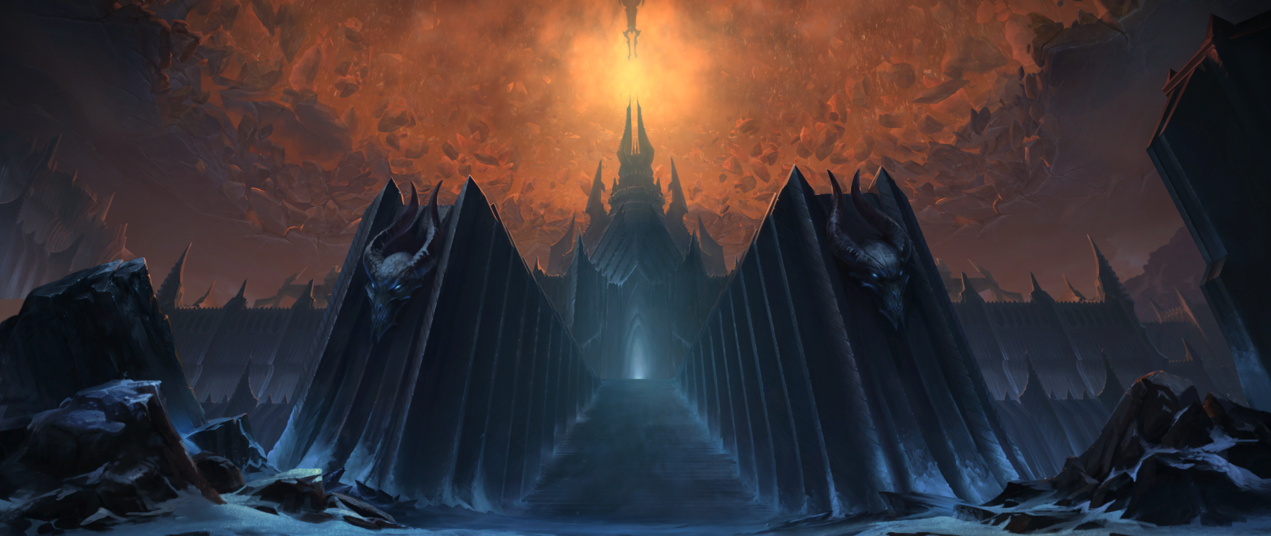 New World of Warcraft: Shadowlands Login Screen and Title Music - Through  the Roof of the World - Noticias de Wowhead