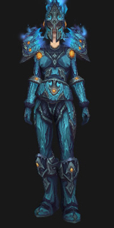 Players can resemble Paladins with Normal and Heroic versions of the Reinforced Sapphirium Battlearmor that do not require set tokens. & All Transmog Sets for Death Knights - Guides - Wowhead