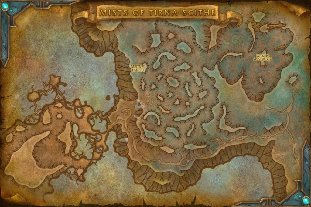 Краткий обзор подземелья Туманы Тирны Скитта из Shadowlands
