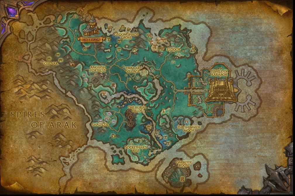 The (Un)official Warlards of Draenor Thread IV: Lame Capitals
