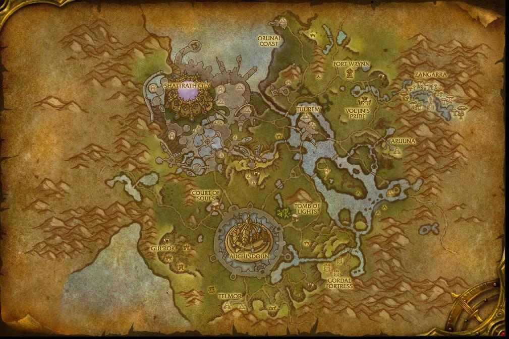 Warlords of Draenor: New maps of Auchindoun and Talador