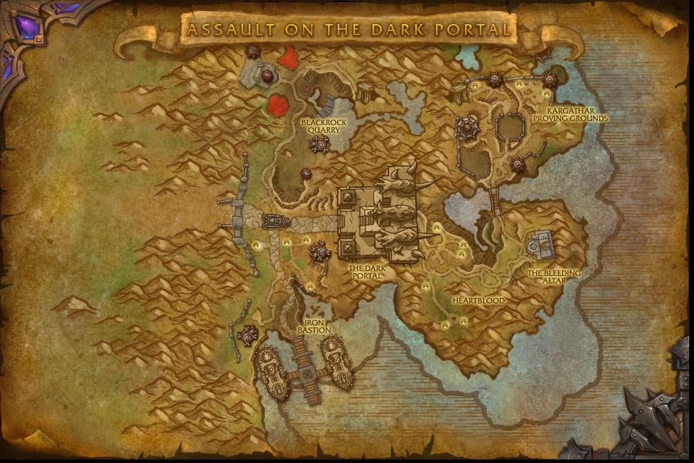 wow warlords of draenor how to get to shadowmoon valley