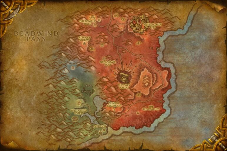 Cataclysm beta build 12803 new updated maps noticias de wowhead darnassus gumiabroncs Choice Image
