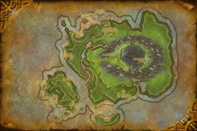 Cataclysm new zones preview wowhead news the lost isles 6 12 gumiabroncs Image collections