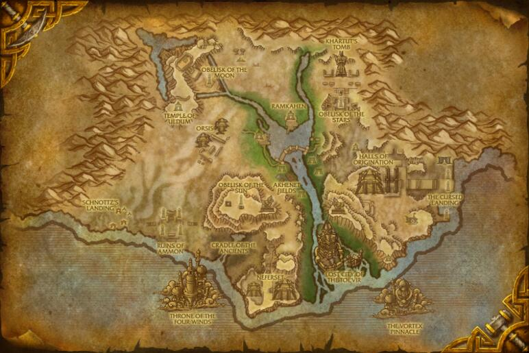 Cataclysm guide a brand new world wowhead zone map gumiabroncs Gallery