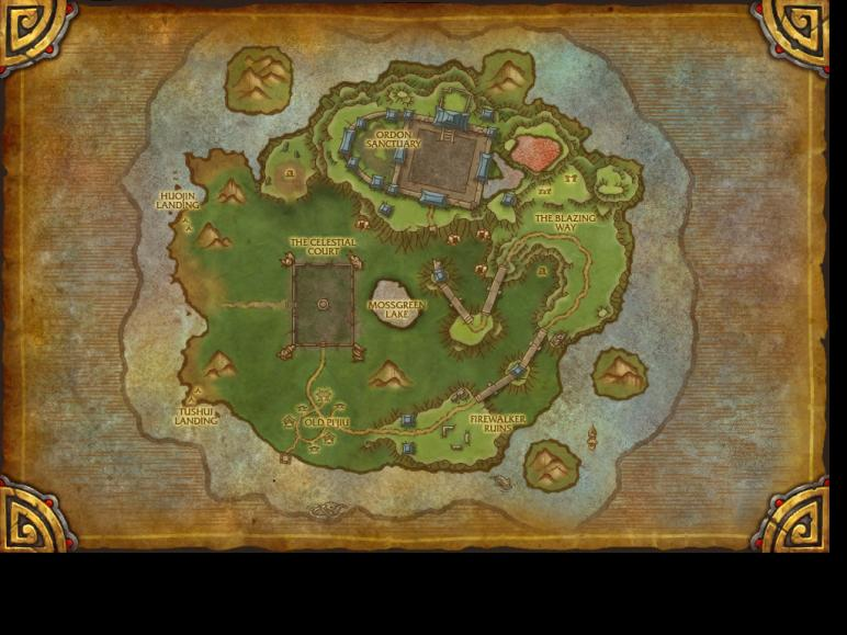 Timeless Isle Map