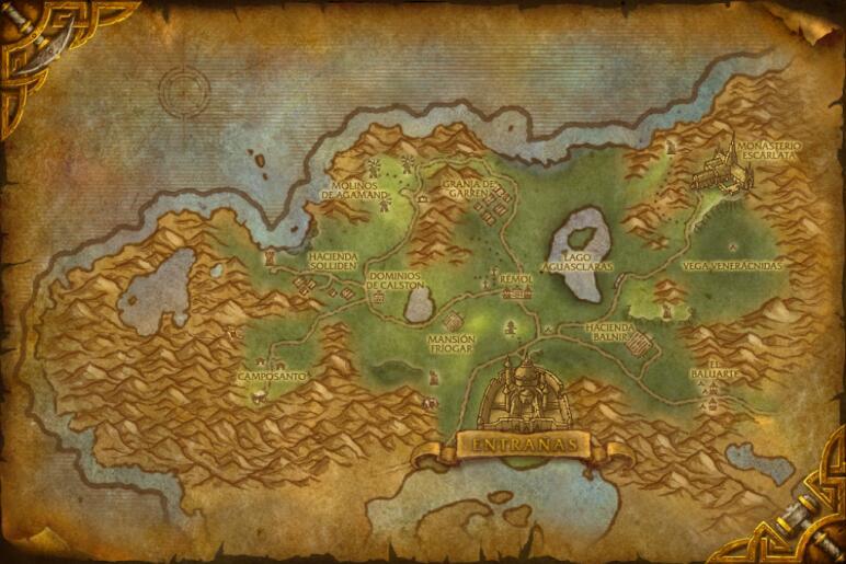 Mapa Reinos Del Este.Mapa De Reinos Del Este