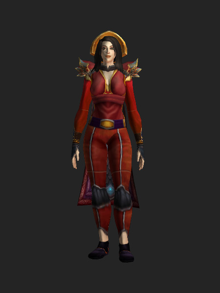 wow red mageweave vest