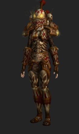 Human Female & Amani Plate (Recolor) - Transmog Set - World of Warcraft