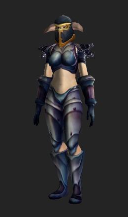 Human Female & Conqueroru0027s Plate (Recolor) - Transmog Set - World of Warcraft