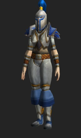 Human Female & Imperial Plate - Transmog Set - World of Warcraft