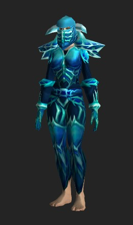 Human Female & Naxxramas Icebane Plate - Transmog Set - World of Warcraft
