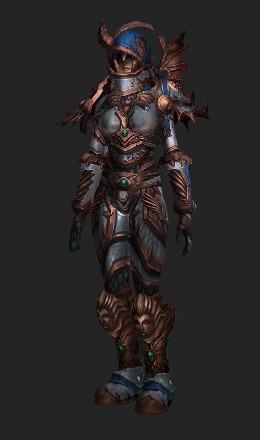 Cataclysmic Gladiators Scaled Armor Conjunto De Transfiguración