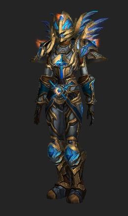 Holy Warrior Plate & Holy Warrior Plate - Transmog Set - World of Warcraft