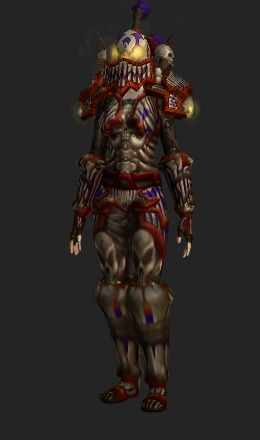 Human Female & Amani Plate (Recolor) - Transmog Set - World of Warcraft