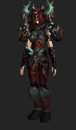 Tyrannical Gladiator's Dragonhide Armor (Horde Recolor