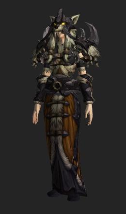 Kor'kron Dark Shaman Armor - Transmog Set - World of Warcraft
