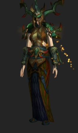 Living Wood Battlegear Mythic Recolor Transmog Set World Of