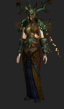 living wood battlegear mythic recolor transmog set world of
