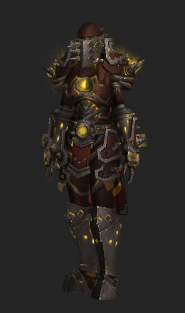 Human Female & Cruel Gladiatoru0027s Plate Armor (Horde Recolor) - Transmog Set - World ...