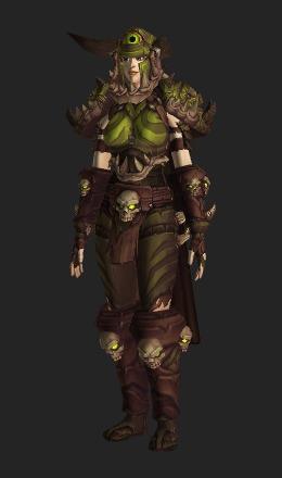 wildstalker armor heroic recolor transmog set world of warcraft