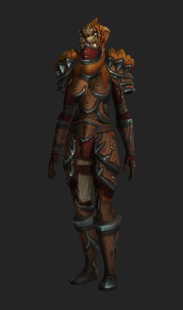 Warmongering Combatant's Leather Armor (Alliance Recolor