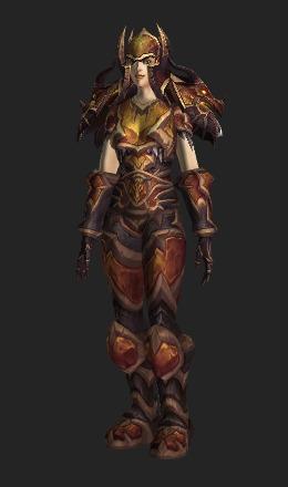 Chromie Timewarden S Plate Transmog Set World Of Warcraft
