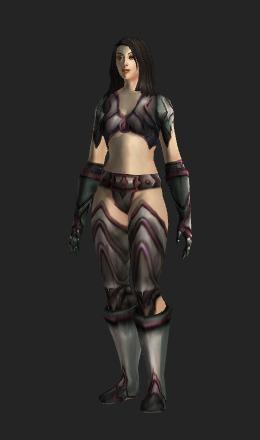 Human Female & Jade Plate (Recolor) - Transmog Set - World of Warcraft
