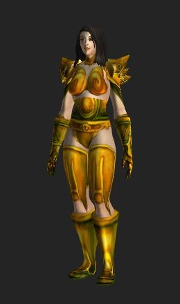 Human Female & Glorious Plate - Transmog Set - World of Warcraft