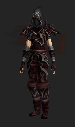 bloodfang armor recolor transmog set world of warcraft. Black Bedroom Furniture Sets. Home Design Ideas