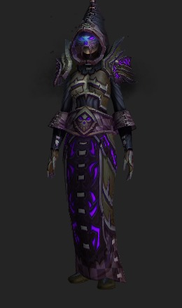 Dark Coven's Regalia (10 Heroic Recolor) - Transmog Set - World of