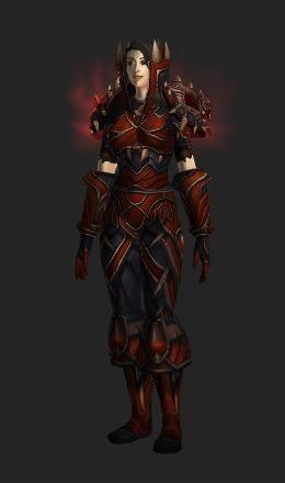 slayers armor transmog set world of warcraft