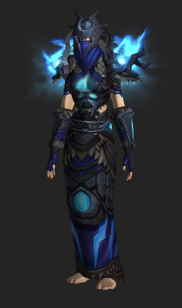 Fabuleux Skyshatter Regalia - Set de transmogrification - World of Warcraft QW43