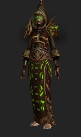 Sanctified Dark Coven's Regalia (25 Normal Recolor) - Transmog Set