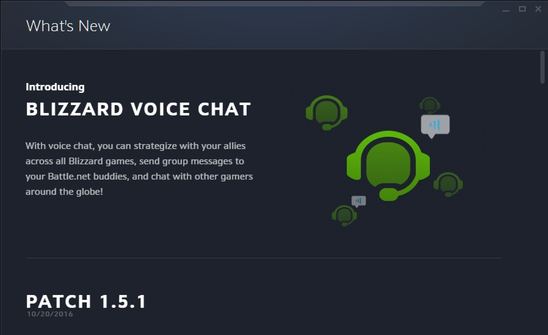 No voice chat in wow
