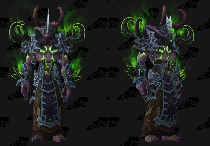Demon Hunter Tier 20 Armor Set Models Wowhead News