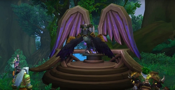 Druid Class Mount and Quest - Archdruid's Lunarwing Form