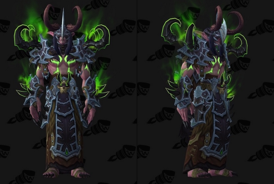 Demon Hunter Tier 20 Armor Set Demonbane Armor Noticias De Wowhead