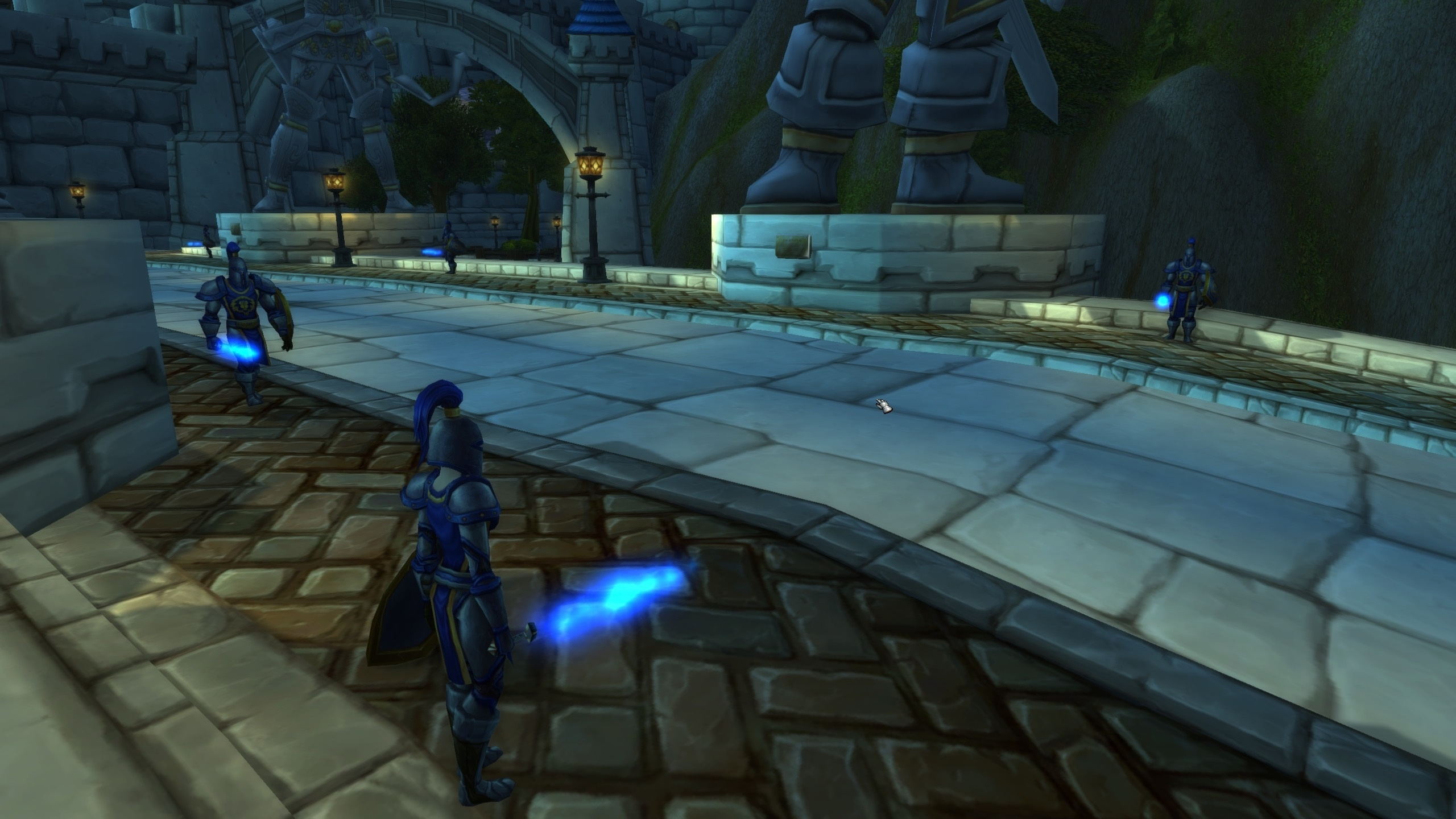 Star Wars References In Wow And City Guards Have Lightsabers For