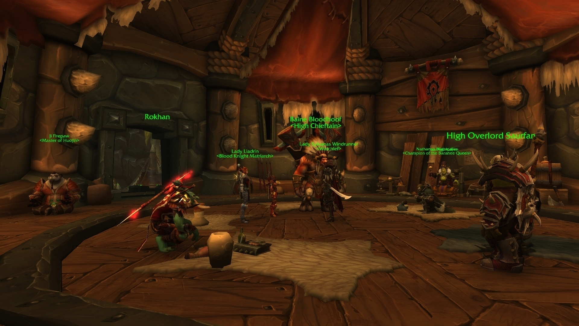 Faction Leader Dialogue At The Horde And Alliance Embassies